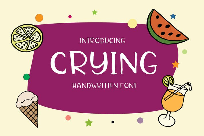Thumbnail for Crying Font