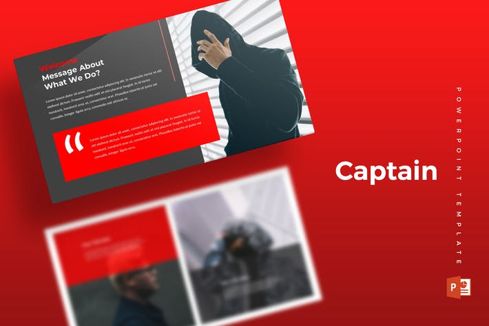 Thumbnail for Capitan - Powerpoint Template