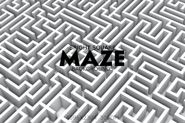 Thumbnail for Bright Square Maze Backgrounds