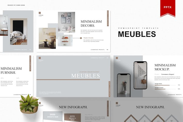 Thumbnail for Meubles | Powerpoint Template