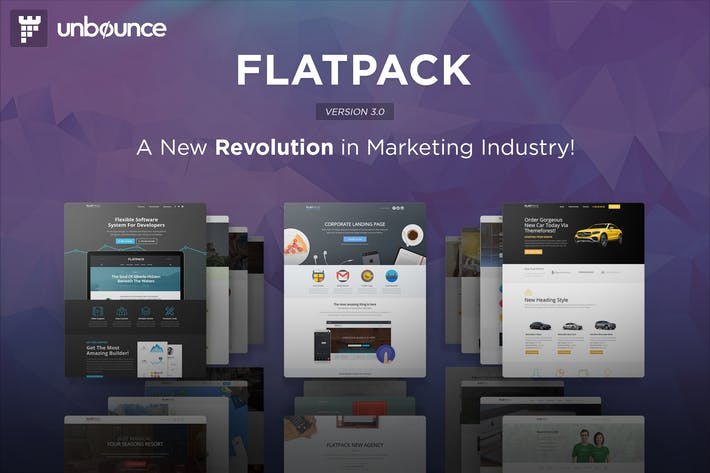 Thumbnail for FLATPACK - Многоцелевой Unbounce Pack