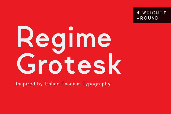Thumbnail for Regime Grotesk