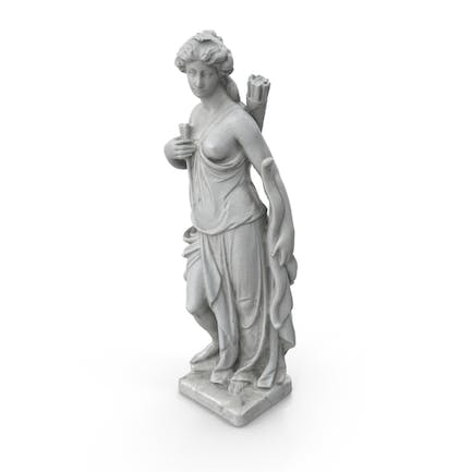 Woman with Bow Sculpture