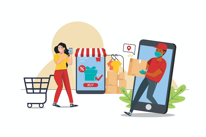 Thumbnail for Online Shopping Activity Illustration