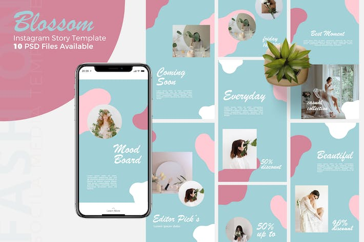 Thumbnail for Blossom -  Instagram Story Template