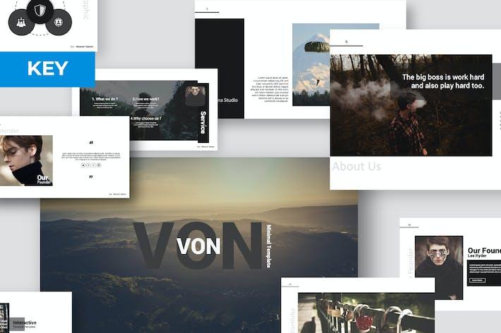 Thumbnail for Von Keynote Template