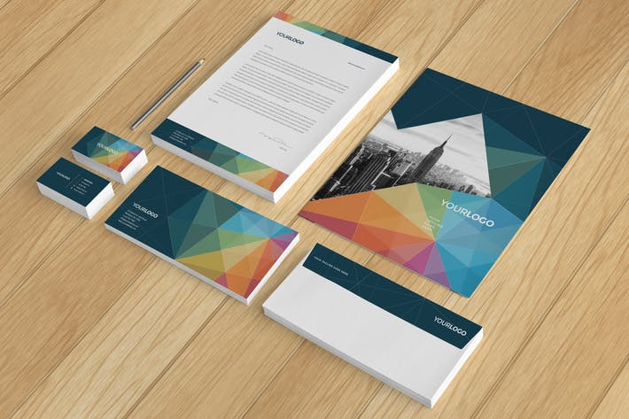 Cover Image For Multicolor Modern Stationery