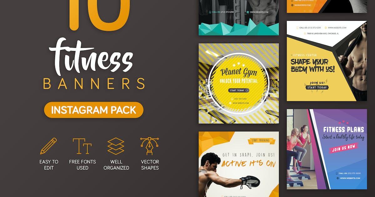 Download Fitness Banners by brandifystudio