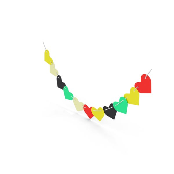 Cover Image for Heart Shaped Garland