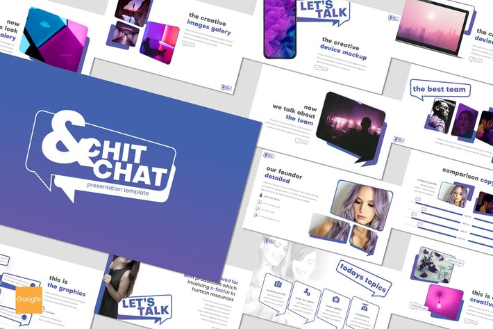 Chit and Chat - Google Slides Template