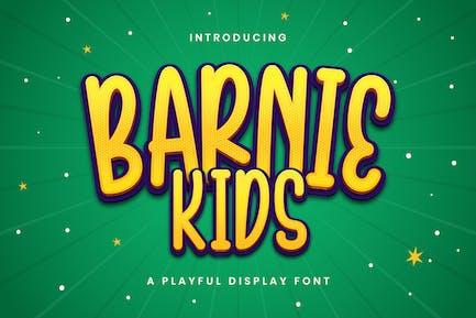 Barnie Kids - Fuente de visualización lúdica