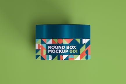 Round Box Mockup 001