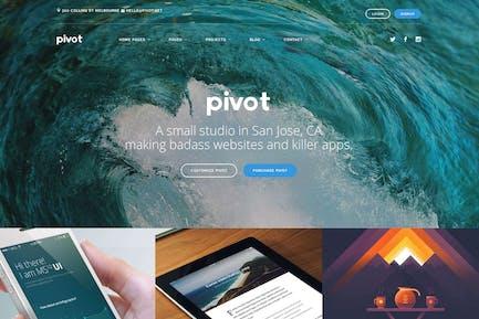 Pivot - Drupal 8 Многоцелевая Тема