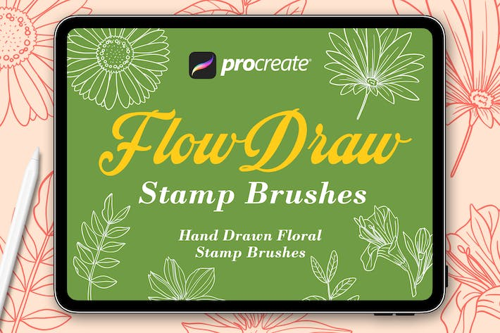 Flow Draw - Procreat Brushes