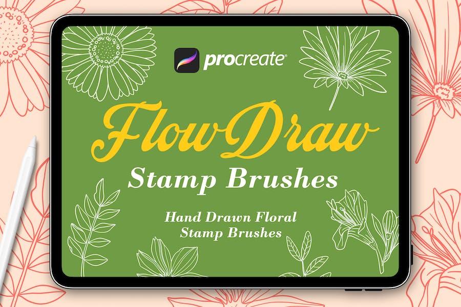 Flow Draw - Procreat Brushes