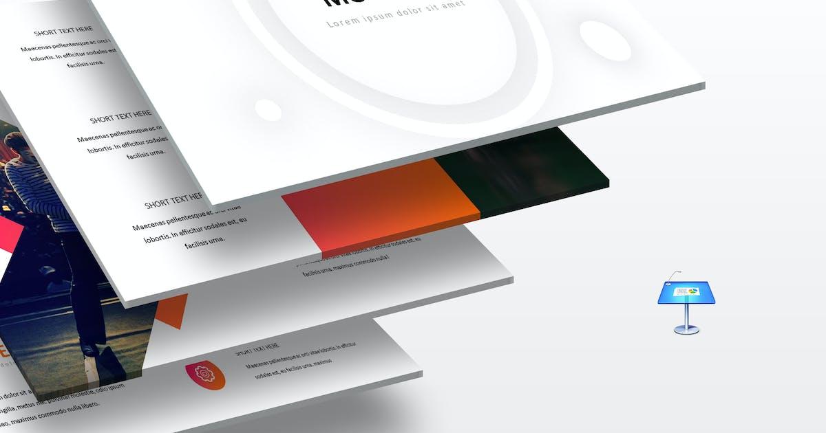 Download Moonela - Keynote Template by aqrstudio