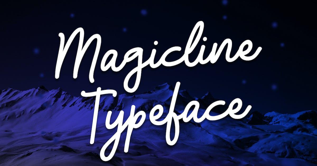 Magicline Typeface by queentype