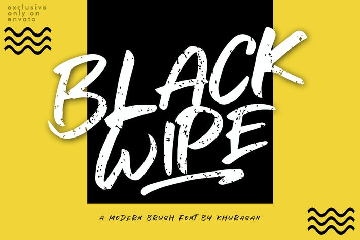 Cover Image For Black Wipe