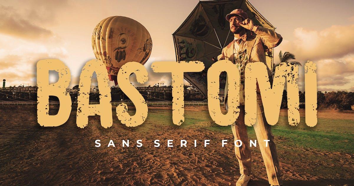Download Bastomi Sans Serif Font by Formatika