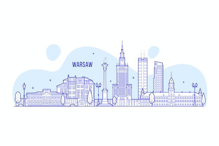 Thumbnail for Warsaw skyline, Poland