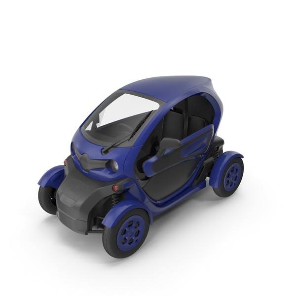 Car Dunkelblau