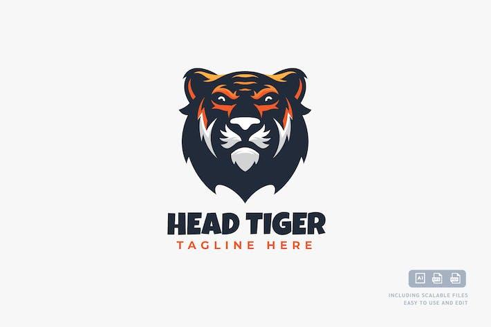 Thumbnail for Head Tiger - Logo Design Template
