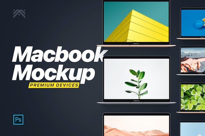 Thumbnail for Macbook Mockup 2019