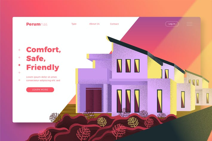 Thumbnail for ImmobilienAgentur - Banner & Landing Page