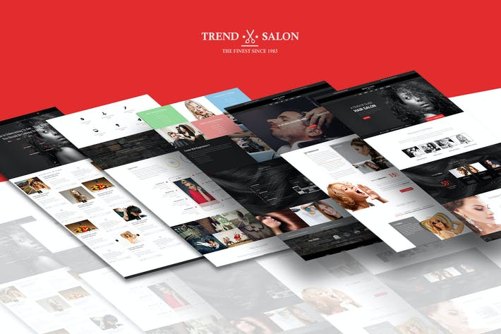 Thumbnail for Trend Salon - HTML Salon Template