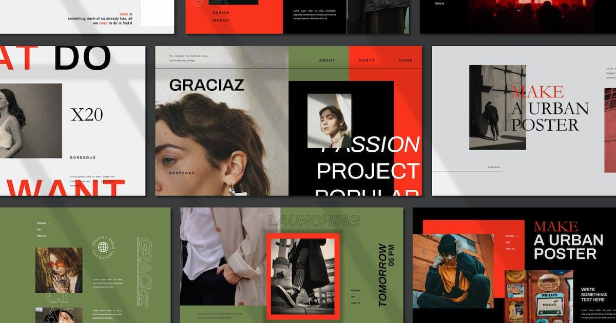 Download Graciaz Urban Powerpoint Template by axelartstudio