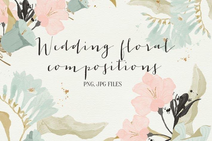 Thumbnail for Hochzeit Blumenkompositionen