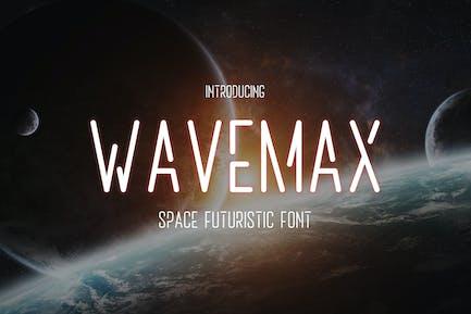Wavemax – Space Futuristic Font