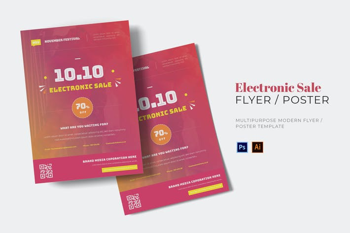 Thumbnail for November Electronic Sale Flyer