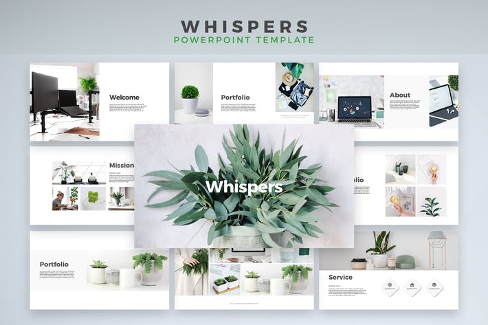 Thumbnail for Whispers - Powerpoint Template