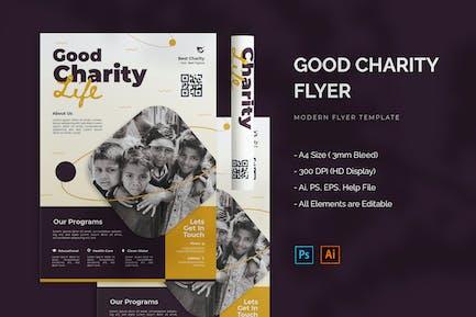 Good Charity - Flyer