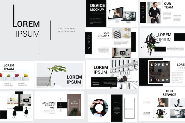 Thumbnail for Lorem Ipsum Powerpoint Template