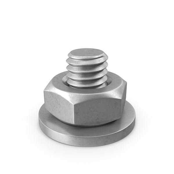 Cover Image for Bolt with Washer and Nut