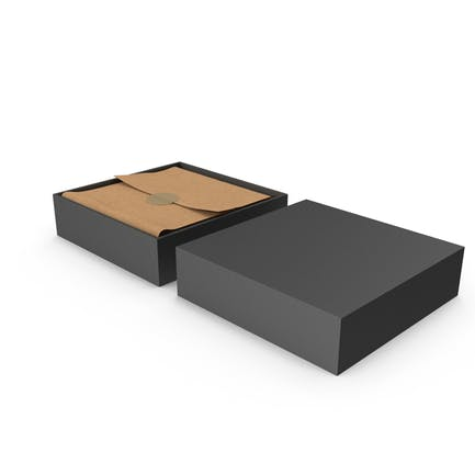 Quadratische Geschenkbox