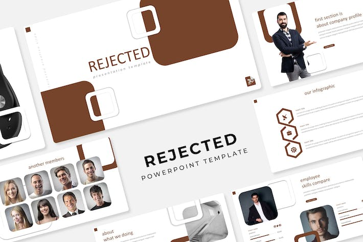 Thumbnail for Rejected - Powerpoint Template