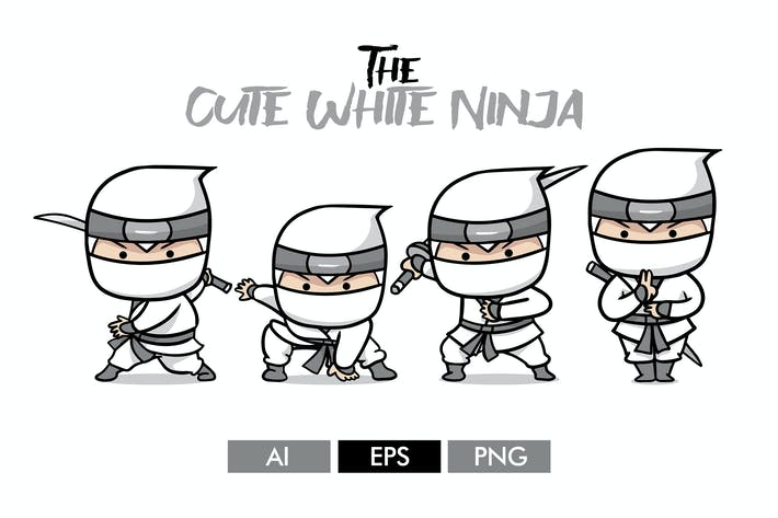 The Cute White Ninja