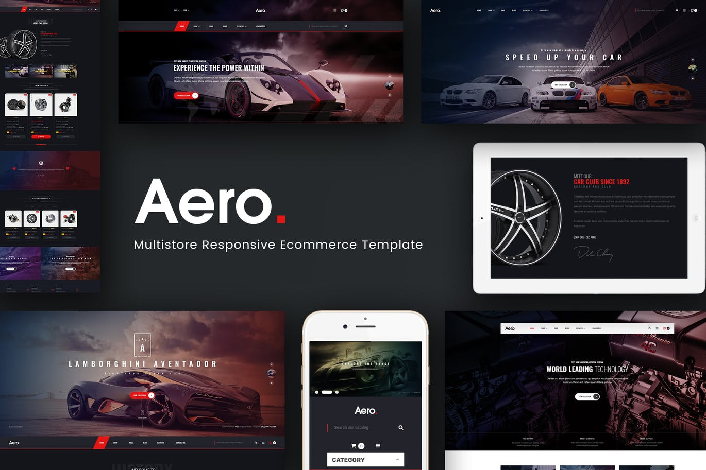 Aero - Car Accessories Responsive Prestashop 1.7 T by Plaza-Themes ...