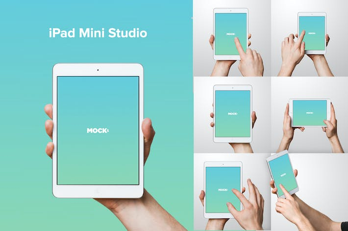Thumbnail for iPad Mini Studio Mockups