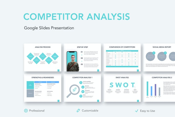Competitor Analysis Google Slides Template