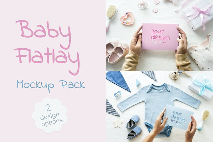 Thumbnail for Baby Shower Mockup
