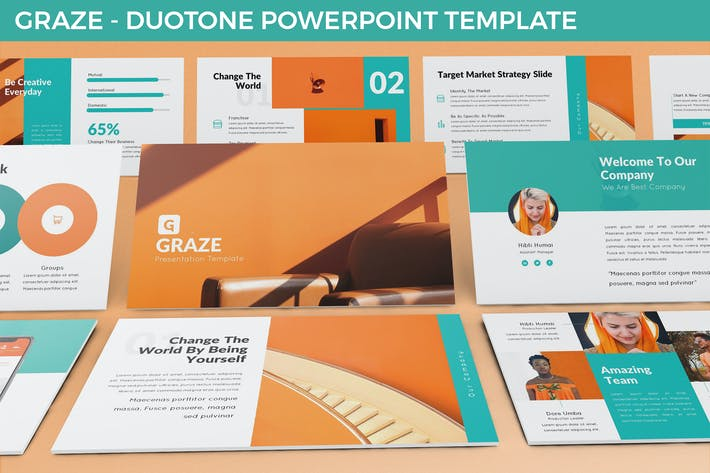 Thumbnail for Graze - Powerpoint Presentation Template
