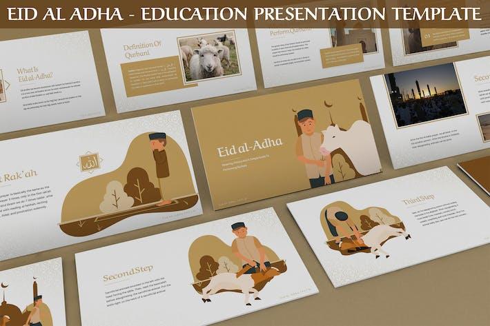 Thumbnail for Eid Al Adha - Education Presentation Template