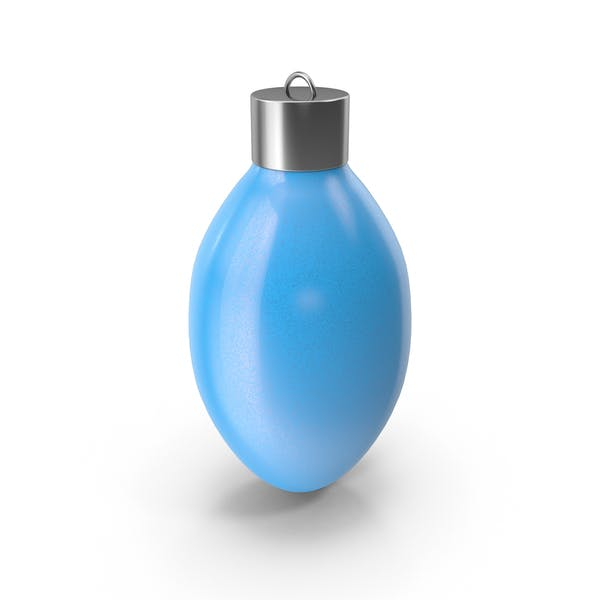 Cover Image for Christmas Tree Bauble Blue