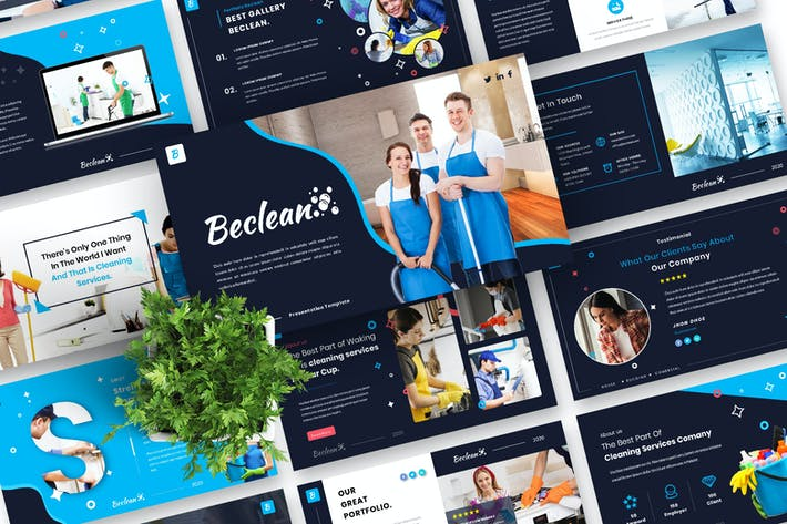 Beclean  CleaningServices PowerPoint