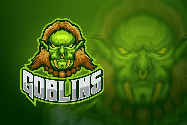 Thumbnail for Evil Goblin Esport Logo