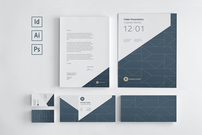 Thumbnail for Stationery Corporate Identity 004